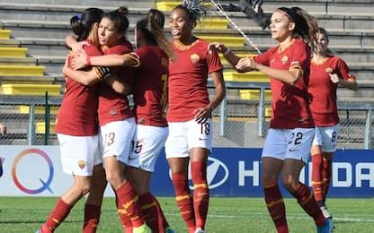 La Roma riparte: Tavagnacco ko 2-0