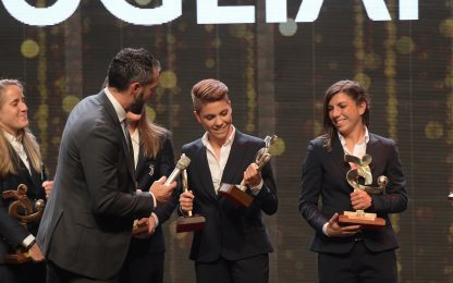 Galà del calcio, la top 11 della Serie A femminile