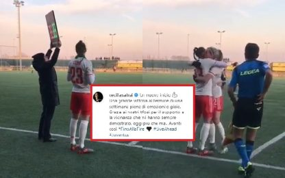 """Juve, Salvai torna in campo: """"Un nuovo inizio"""""""