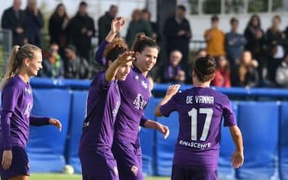 Super Fiorentina, 3-0 nel derby con l'Empoli