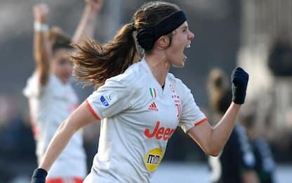 Serie A femminile, 16^ giornata: Juve ok a Verona