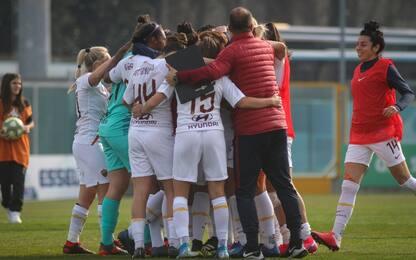 Bonfantini-gol, Roma-Sassuolo 0-1. Ok il Florentia
