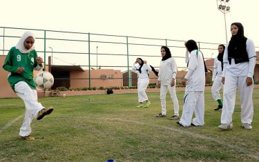 arabia saudita calcio femminile getty