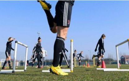 Coronavirus, Serie A donne: tra stop e allenamenti
