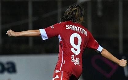 Sabatino lancia la Fiorentina a punteggio pieno