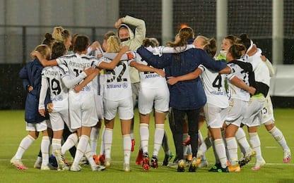 Serie A femminile: la Juve si riprende il comando