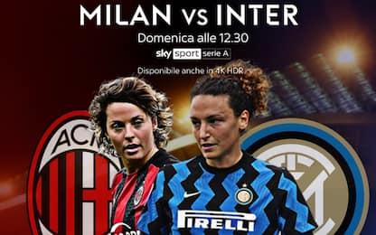 L'altro derby Milano: domenica c'è Milan-Inter