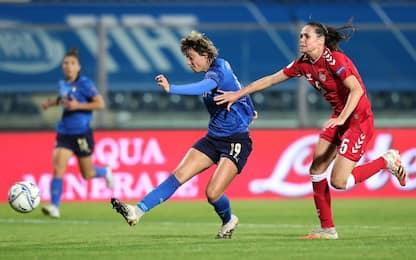 Primo ko per le Azzurre: la Danimarca vince 3-1