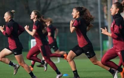 Serie A femminile, calendario e orari 8^ giornata