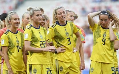 Svezia, parte dello stipendio al calcio femminile