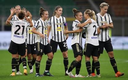 Champions femminile, Juve-Lione sarà live su Sky