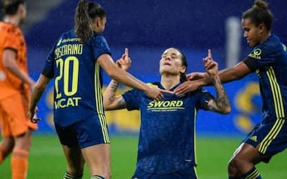 Juve ko 3-0 a Lione: è fuori dalla Champions