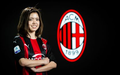 Milan, colpo dal Giappone: arriva Yui Hasegawa