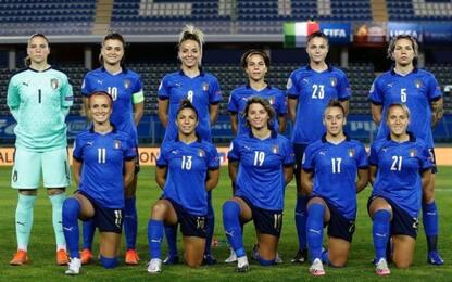 Euro 2022, Italia-Israele: le azzurre a Coverciano