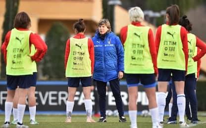 Italia femminile, 1-1 con l'Islanda in amichevole