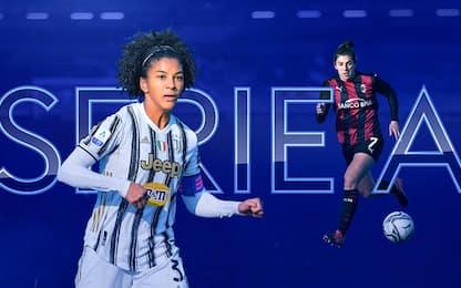 Serie A femminile, calendario e orari 15^ giornata