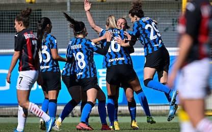 Coppa Italia, primo round all'Inter: 2-1 nel derby