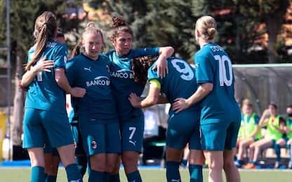 Serie A femminile, oggi Milan-Empoli alle 12.30