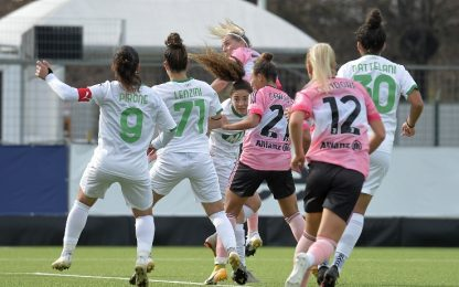 Serie A femminile, alle 12.30 Sassuolo-Juve su Sky