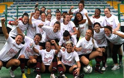 Milan Women in Champions: basta 0-0 col Sassuolo