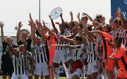 Record Juve: 5-0 all'Inter, 22 successi su 22 in A