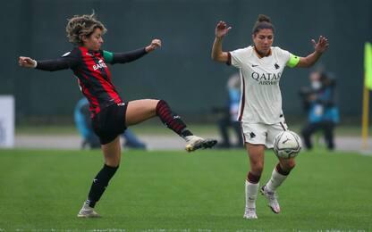 Finale C. Italia femminle, Milan-Roma: la guida