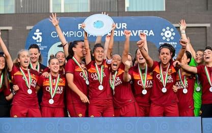 Roma Primavera campione: Juve battuta 1-0 al 95'