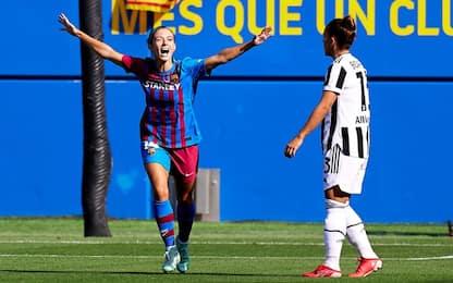 Barça stellare: Juve femminile travolta 6-0