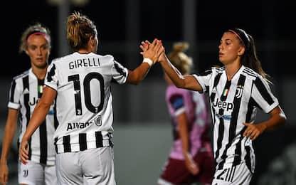 Serie A: Juve, Inter e Roma partono con un tris