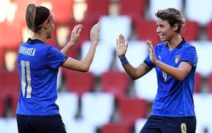 Qualificazioni, l'Italia travolge 5-0 la Croazia
