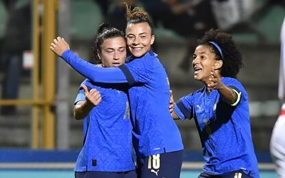 Italia femminile travolgente: Lituania battuta 5-0