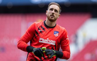 Jan Oblak of Atletico de Madrid during the match Atletico de Madrid  v Valencia CF, of LaLiga 2019/2020 season, date 9. Wanda Metropolitano Stadium. Madrid, Spain, 19 OCT 2019.