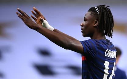 Baby in gol con la Francia: Camavinga batte tutti
