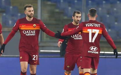 Chi ha più giocatori in doppia cifra? Roma prima