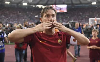 """Totti: """"Sono cresciuto alla Roma e morirò lì"""""""