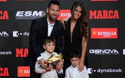 """Messi vince 6^ Scarpa d'Oro: """"Merito dei compagni"""""""