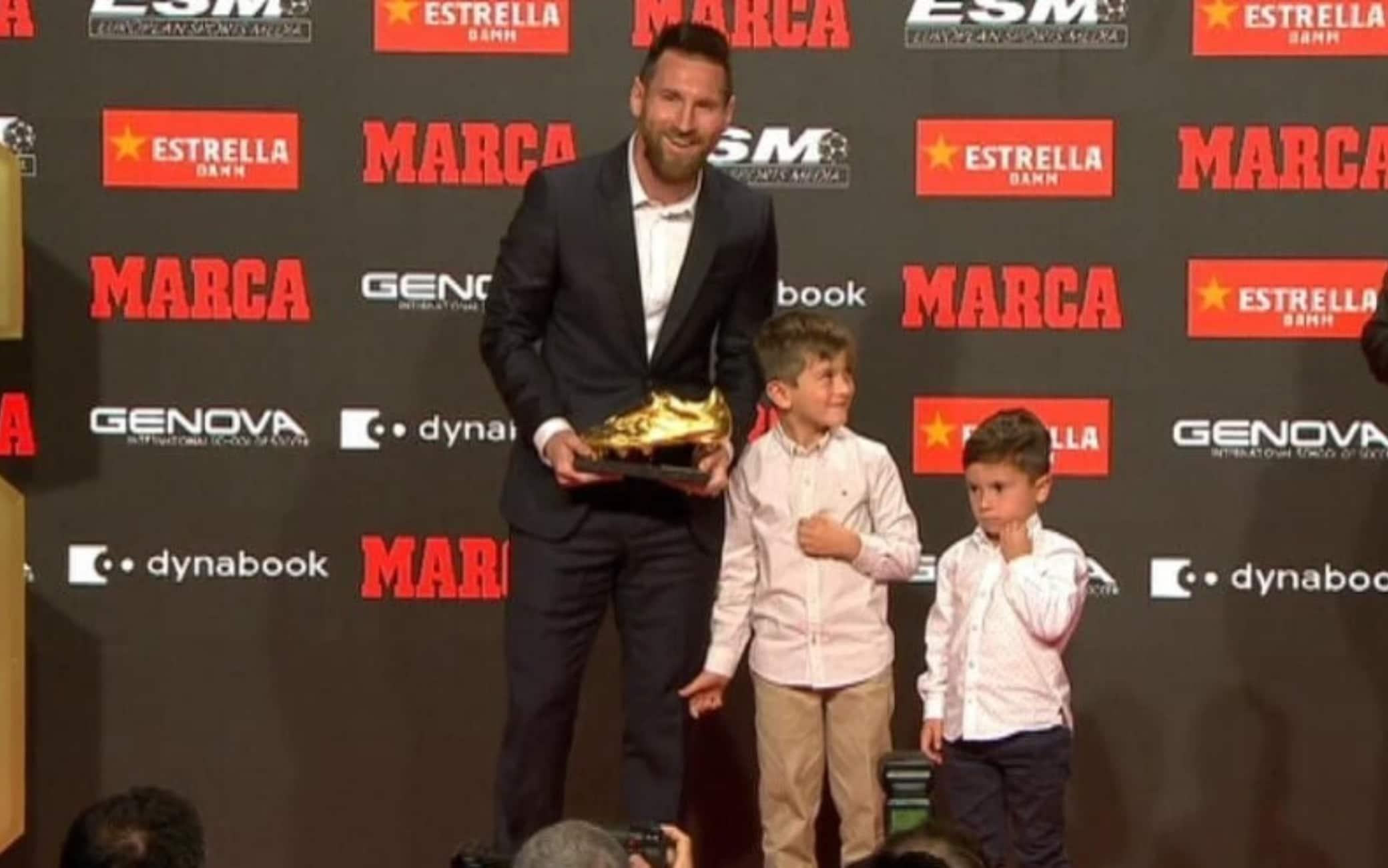Lionel Messi vince la sesta Scarpa d'Oro in carriera