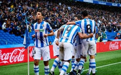 Real Sociedad avanti tutta: vittoria e 4° posto