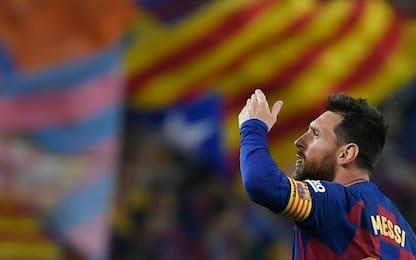 Messi, 50^ punizione e il Barça va. Pari Atletico