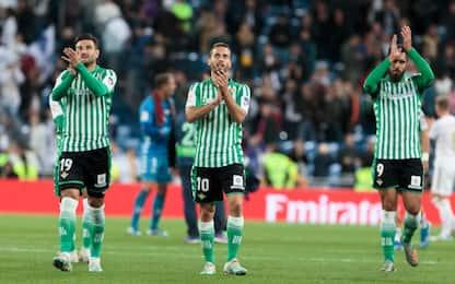 Record Betis: 3 gare senza subire gol al Bernabeu