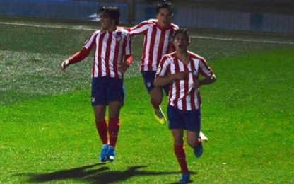 Baby Simeone, gol al Real ed esultanza speciale