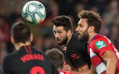 Sanchez risponde a Renan: Granada-Atletico 1-1