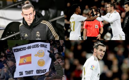 Bale punito dal Bernabeu: fischi dai tifosi Real