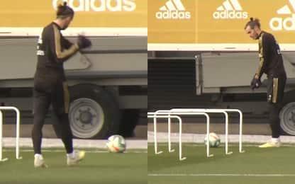 """Bale """"gioca"""" a golf anche in allenamento. VIDEO"""