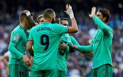 Liga, il Real non si ferma: Espanyol sconfitto 2-0