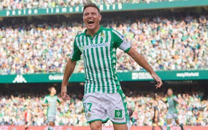 Joaquin da record: tripletta più 'vecchia' in Liga