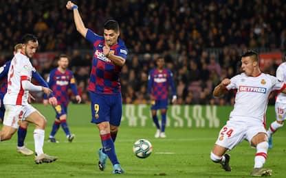 Suarez, tacco da urlo: il gol è pazzesco. VIDEO
