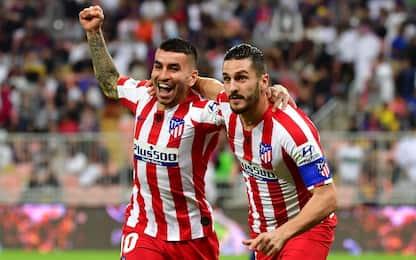 Supercoppa, Atletico Madrid in finale: sarà derby