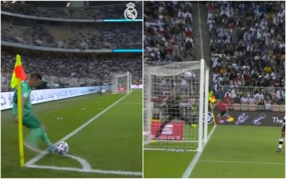 Kroos stupisce tutti: gol da angolo in Supercoppa