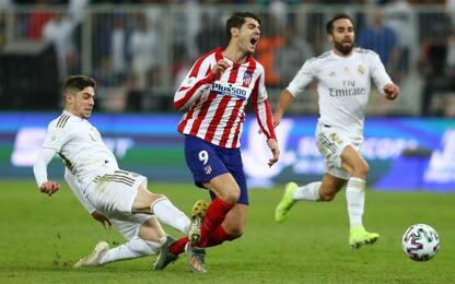"Valverde rosso al 115', Simeone: ""Uomo partita"""
